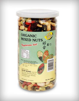 Organic Mixed Nuts and dried fruits 400g (Nuttos-Heap  Hong)A