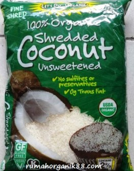 lets do coconut sherded