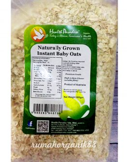 HP naturally grown instant baby oats